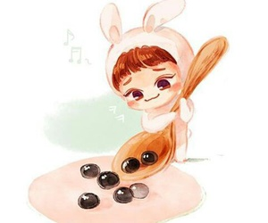 Chen, exo m, and exo chibi image