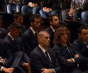 pedro, suits, and iniesta image