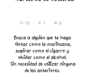 alcohol, cigarro, and frase image