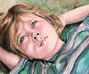 art, arte, and blue eyes image