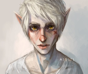art, elf, and cool image