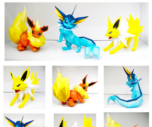 origami and pokemon image
