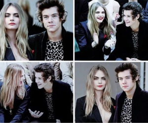 cara delevingne and Harry Styles image