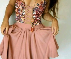 dress, pretty, and dresses image