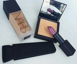 nars, lipstick, and make up image