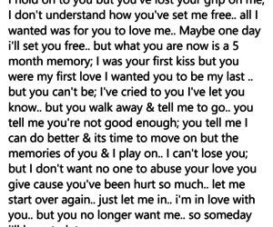 alternative, first love, and moving on image