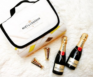 bottles, cheers, and moetchandon image