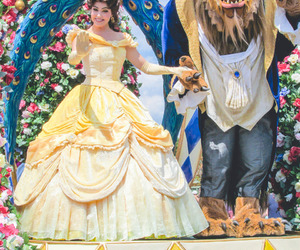 beauty and the beast and disneyland image