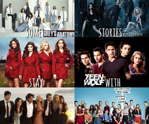 addiction, glee, and tv shows image