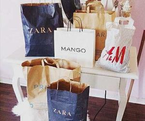 shopping, Zara, and H&M image