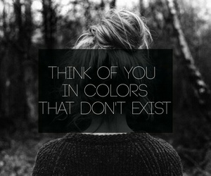 black and white, colors, and exist image