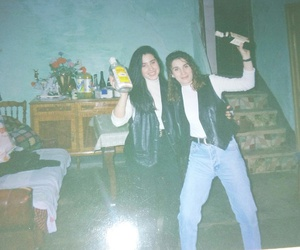 90's, black, and party image