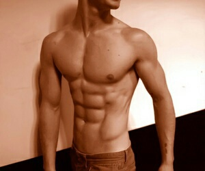 abs, fitness, and guys image
