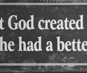 god, man, and quote image