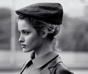 model, fashion, and vintage image