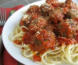 dish, food, and pasta image