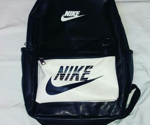 backpack, bag, and Just Do It image