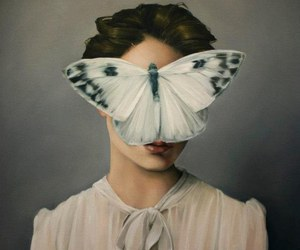 butterfly, art, and painting image