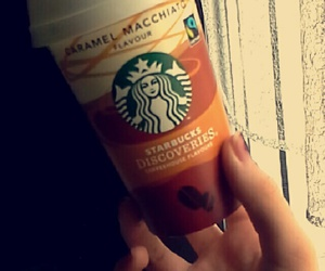 coffe, drink, and starbucks image