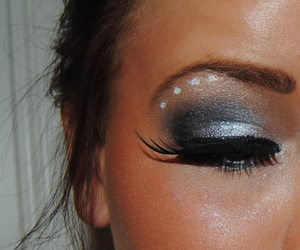black, Hot, and eye image