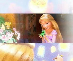 rapunzel, disney, and pascal image