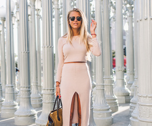 sunglasses, janni deler, and dress image