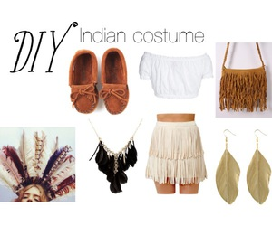Halloween and diy indian costume image