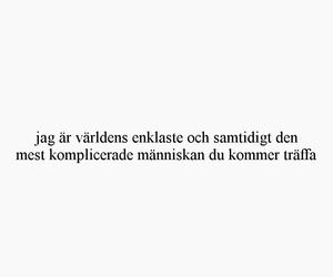 svenska, sverige, and svenska citat image