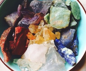 crystal, stone, and indie image