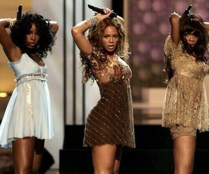 beyonce knowles, michelle williams, and kelly rowland image
