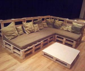 couch, diy, and furniture image