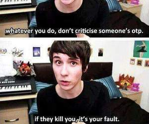 otp, danisnotonfire, and dan howell image