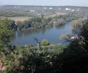falaise, nature, and Seine image