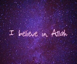 allah, believe, and muslim image