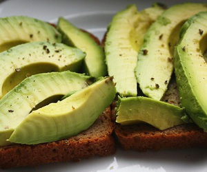 avocado, food, and yummy image