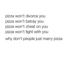 pizza, food, and marry image