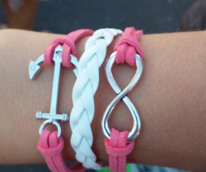 bracelet and infinity image