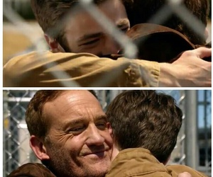 father and son, the flash, and barry allen image