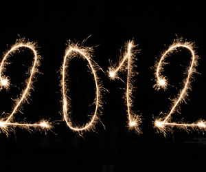 2012 and new year image