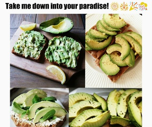 avocado, breakfast, and food image