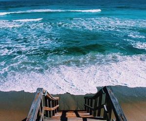 aqua, beach, and mar image