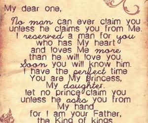 god, princess, and prince image