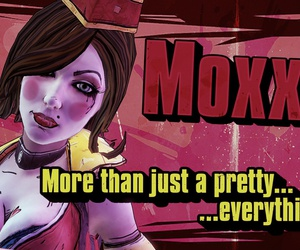 Hot, mad moxxi, and borderlands 2 image