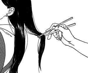 manga, anime, and hair image