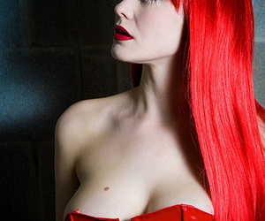 red hair, red, and hair image