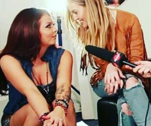 smile, jesy nelson, and perrie edwards image