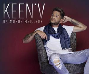 keen'v, chanteur, and world image