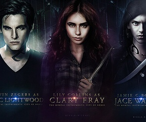 isabelle, jace, and simon image
