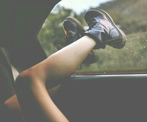 car, grunge, and boots image