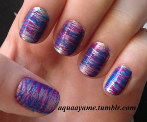 brush, nail art, and nails image